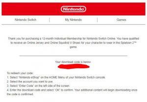 Nintendo switch online codes free | Nintendo Coupon Promo Codes July