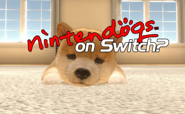 nintendogs on switch