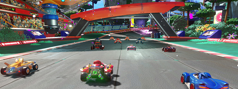 Team Sonic Racing Graphics